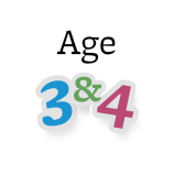 Age 3 and 4